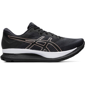 asics Glideride Schoenen Dames, black/rose gold